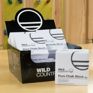 Wild Country Pure chalk blocks.