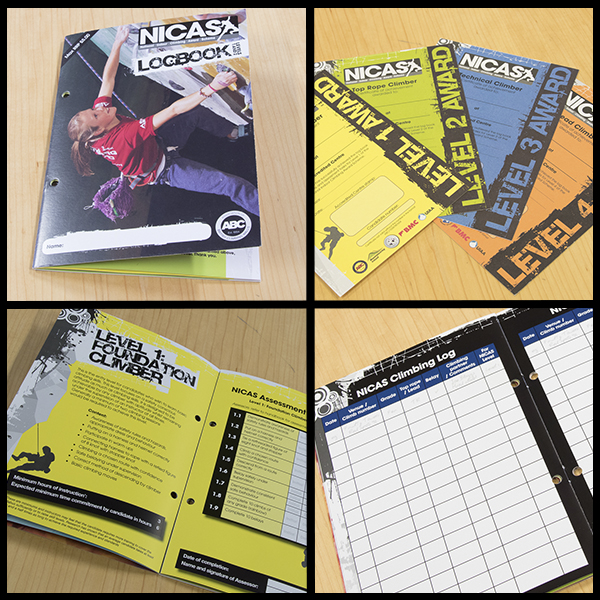NICAS certificates and log books