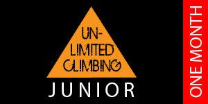 Unlimited Climbing voucher Junior 1 month