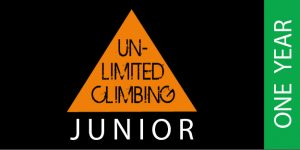 Voucher for 1 year's unlimited climbing for juniors